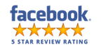 A Facebook 5-star review of DM Services Icon